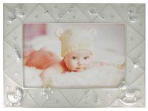 Lasten helmiäisvalkoinen valokuvakehys
