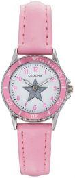 Huom! Kuvassa värit vääristyneet, todellisuudessa kellon väri on vaaleanpunainen.