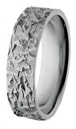 Malmin Korupaja, Atlas-sormus, 6mm, black silver