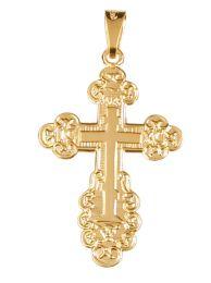 Kultainen ortodoksi risti-riipus, 7060