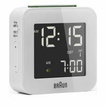 Braun, herätyskello, BNC008-valkoinen