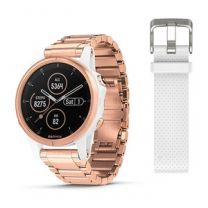 Garmin, Fenix 5S Plus, Sapphire white, rose metal- multisportkello