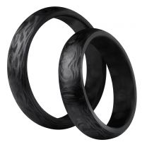 3D Carbon, Hiilikuitusormus, 5mm