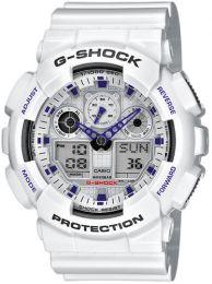 Casio, G-Shock, GA-100A-7AER