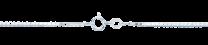 Binder, Venetsiaketju 0,9mm, hopea