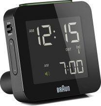 Braun, herätyskello, BNC009 range - musta