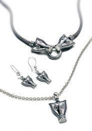 Kalevala, Lohikäärme  - kaulakoru, hopea°