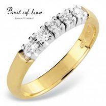 Beat Of Love, timanttisormus, RO-5x0.05D