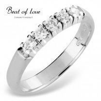 Beat Of Love, timanttisormus, RO-5x0.05DW